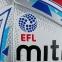 Мяч футбольный MITRE DELTA HYPERSEAM FIFA QUALITY PRO EFL Английская Футбольная Лига сезон 2017-18 размер 5 4