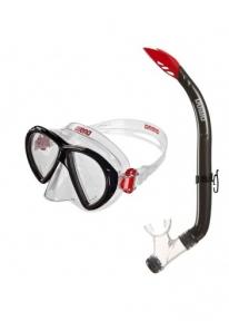 1E391 Arena  трубка  маска комплект SEA DISCOVERY 2 JR MASK+SNORKEL
