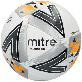 Мяч футбольный MITRE ULTIMATCH MAX FIFA QUALITY HP термосклейка L20P бел размер 5
