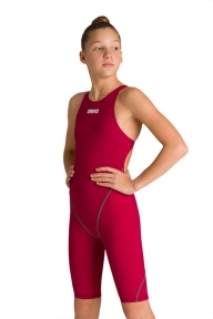 2A956 Arena костюм для плавания PWSKIN ST 2.0 FBSLOB JR deep red