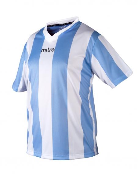 Футболка игровая MITRE Moco голубая