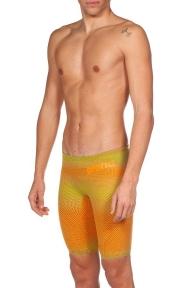 001130 Arena гидрошорты для плавания стартовые м CARBON AIR 2 JAMMER psyco lime-orange
