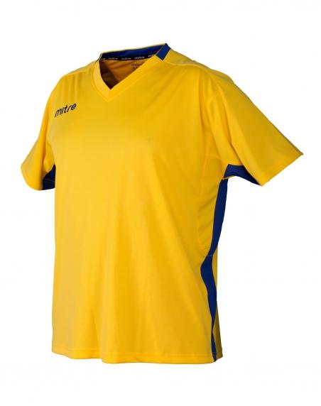 Футболка игровая MITRE Mission желт/черн