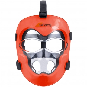 Защитная маска лица для хоккея на траве GRAYS FACEMASK CLEAR