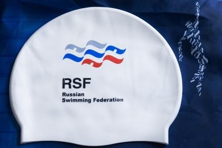 ВФП шапка для плавания с символикой ВФП