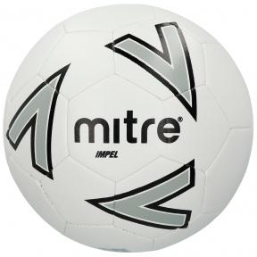 Мяч футбольный MITRE IMPEL L30P бел/сер/черн размер 4