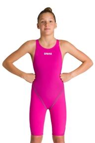 2A956 Arena костюм для плавания PWSKIN ST 2.0 FBSLOB JR fuchsia