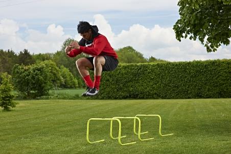 Набор барьеров с противовесом MITRE для тренировок 3х30 см