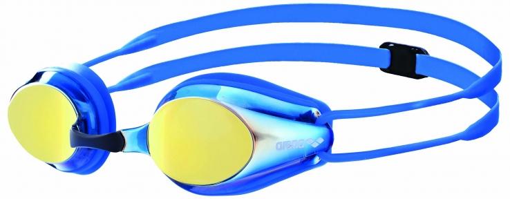 1E560  Arena очки для плавания TRACKS JR MIRROR (6-12лет)
