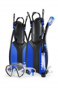 Набор: маска, ласты, трубка TYR Voyager Mask Snorkel Fin Set