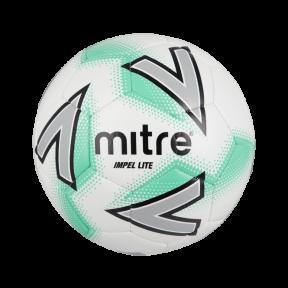 Мяч футбольный MITRE IMPEL LITE 290 бел/зел размер 4