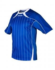 Футболка игровая MITRE Modena Юниор(JR) синяя