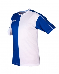 Футболка игровая MITRE Bilbao син/бел