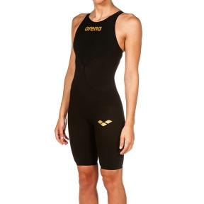 001128 Arena костюм для плавания ж CARBON AIR 2 FBSLOB black-black-gold