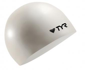 Шапочка плавательная TYR Wrinkle Free Junior Silicone Cap